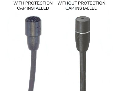 Alt. View - With & Without Supplied Protection Cap