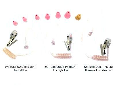Tube Coil Versions Array (Left, Right, Uni)
