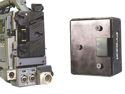 Alternate View - Rear of Battery
