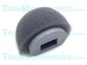 TR-GWS | Clip, Windscreen, Foam With Plastic Support, Gray, Accessory For Tram TR50g Lavalier Mics